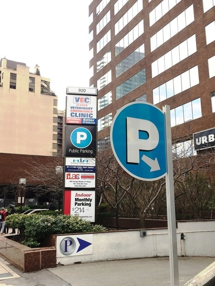 920 Yonge St  - PACE PARKING LTD